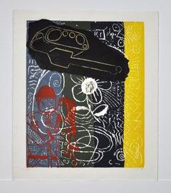 Lars Ravn. Screen Print, 1987 EA I/II, signed