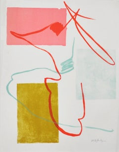 Danish Lithograph by Malene Landgreen, signed ca. 2010