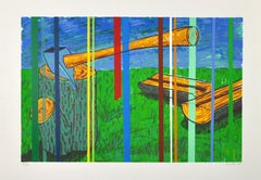 Scandinavian Screen Print by Danish artist Lars Ravn, signed and numbered