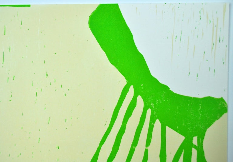 "Scandinavian Woodcut, ""Musashimaru Koyo, Sumo 11""