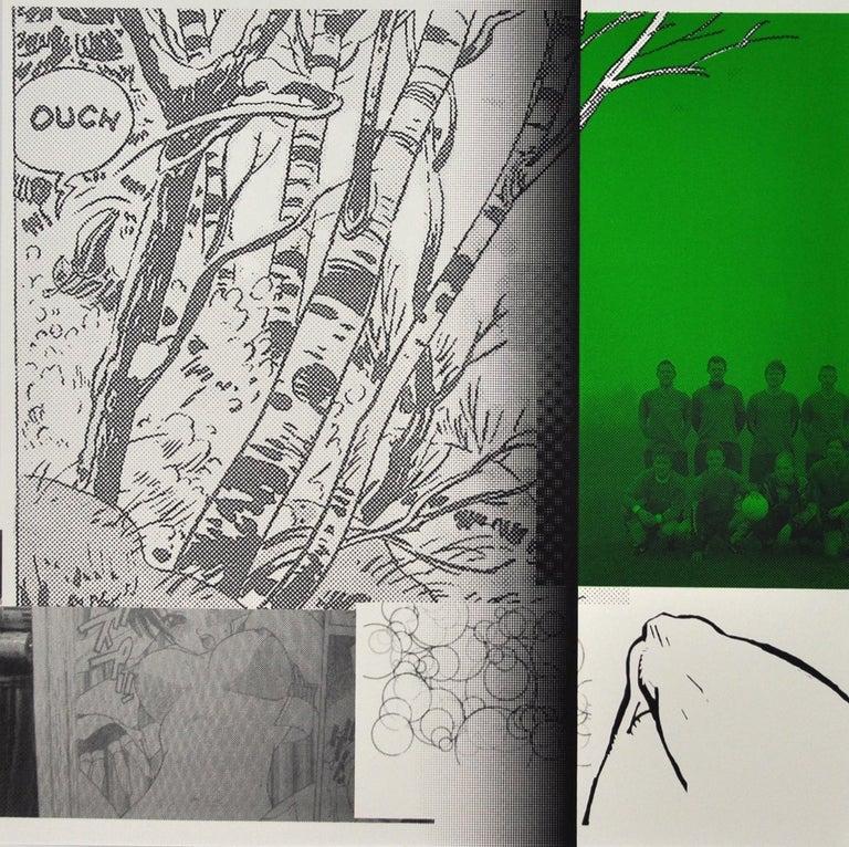 """Boyhood Dream/talentless"" (""Drengedrøm/talentløs"") Claus Handgaard Jørgensen Screen Print, 2006 Numbered 4/48, signed.  Artsize: 48 cm H x 48 cm W, unframed.  Claus Handgaard (1969-) is educated from the Royal Danish Art Academy's Graphic School"