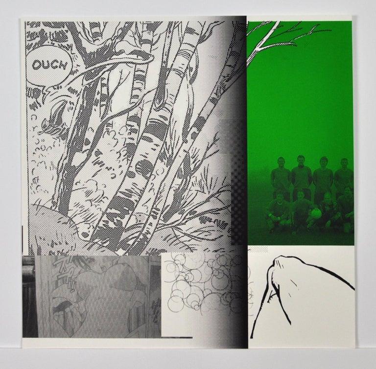 """Boyhood Dream"" Scandinavian Pop Art Screen Print For Sale 1"
