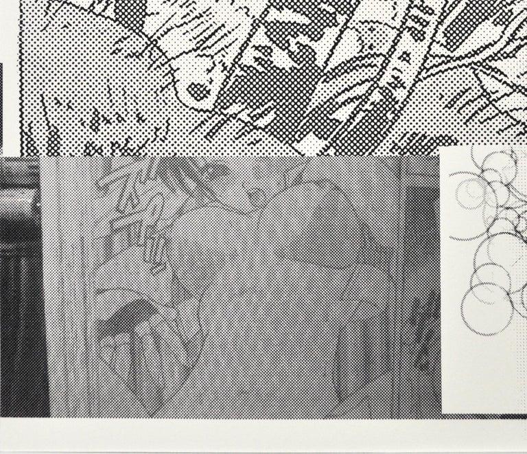 """Boyhood Dream"" Scandinavian Pop Art Screen Print For Sale 3"