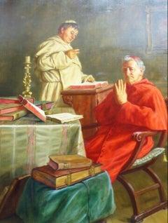 Vatican Cardinal Praying