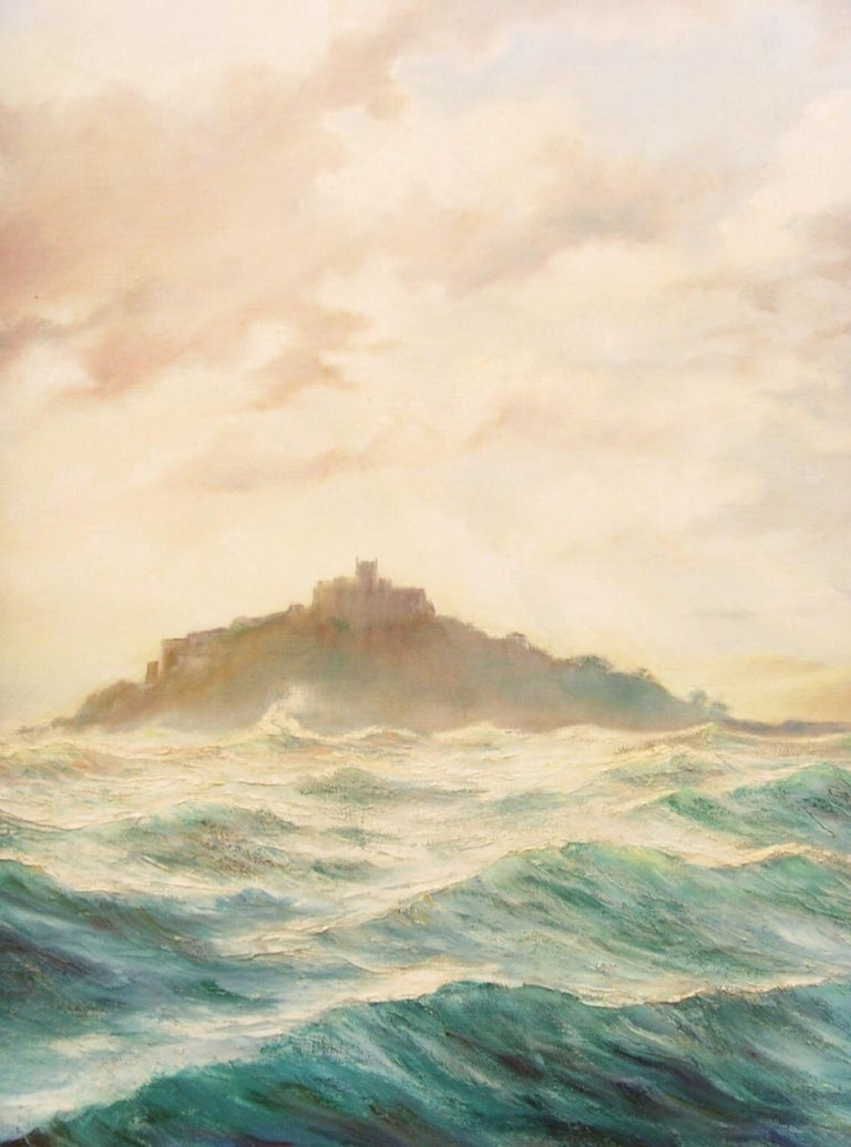 Huge Seascape St.Michaels Mount  For Sale 2