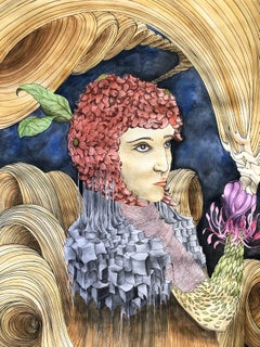 Belen by Pampa Louzao Watercolor on paper