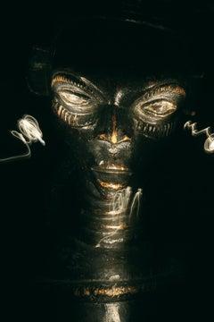"""Series """"Mirada de Africa"""" The Skeptic Eye by Andrés Barragán Photograph"""