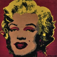 Marilyn Monroe by Andy Warhol Tapestry Limited Edition (Red)