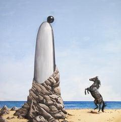 Empathy, Embrace the Mystery by Pampa Louzao Acrylic on Canvas