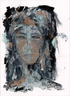 Dorotea Bazan by Silvina Pirola Oil on Paper