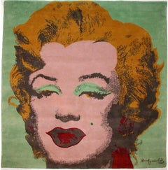 Marilyn Monroe by Andy Warhol Tapestry Limited Edition (Green)