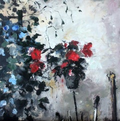Flower - Oil Paintings, Figurative, StillLife, XXI Century, Post-Impressionist