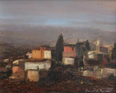 On the way to Cordoba - XXI Century, Contemporary Landscape Oil Painting