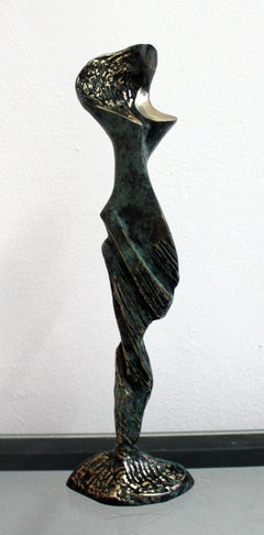 Princess of a wind - XXI Century Contemporary Bronze Statue Abstract Figurative