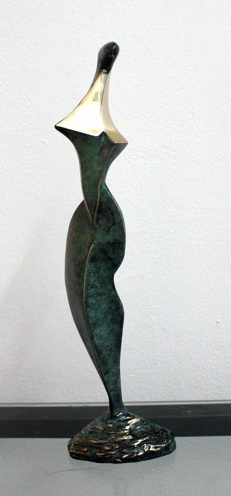 Stanisław Wysocki Figurative Sculpture - Dame - XXI Century, Contemporary Bronze Sculpture, Abstract, Figurative, Nude