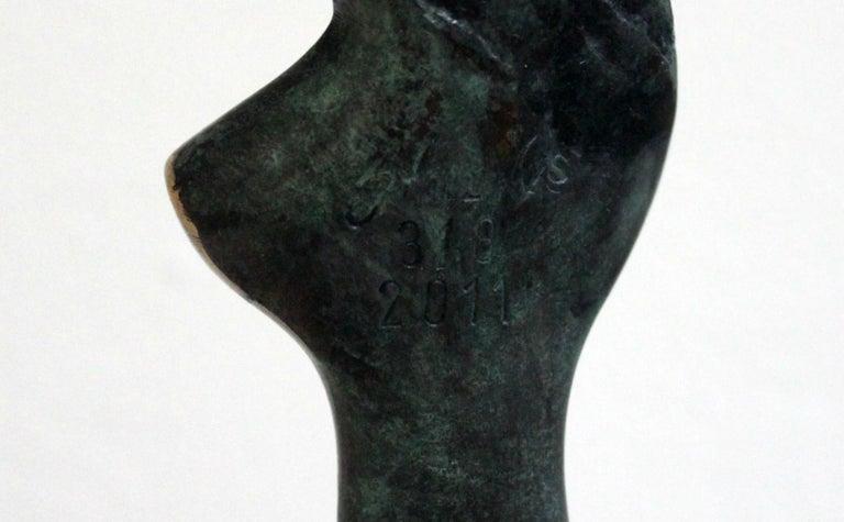 Venus - XXI Century, Contemporary Bronze Sculpture, Abstract, Figurative, Nude For Sale 1