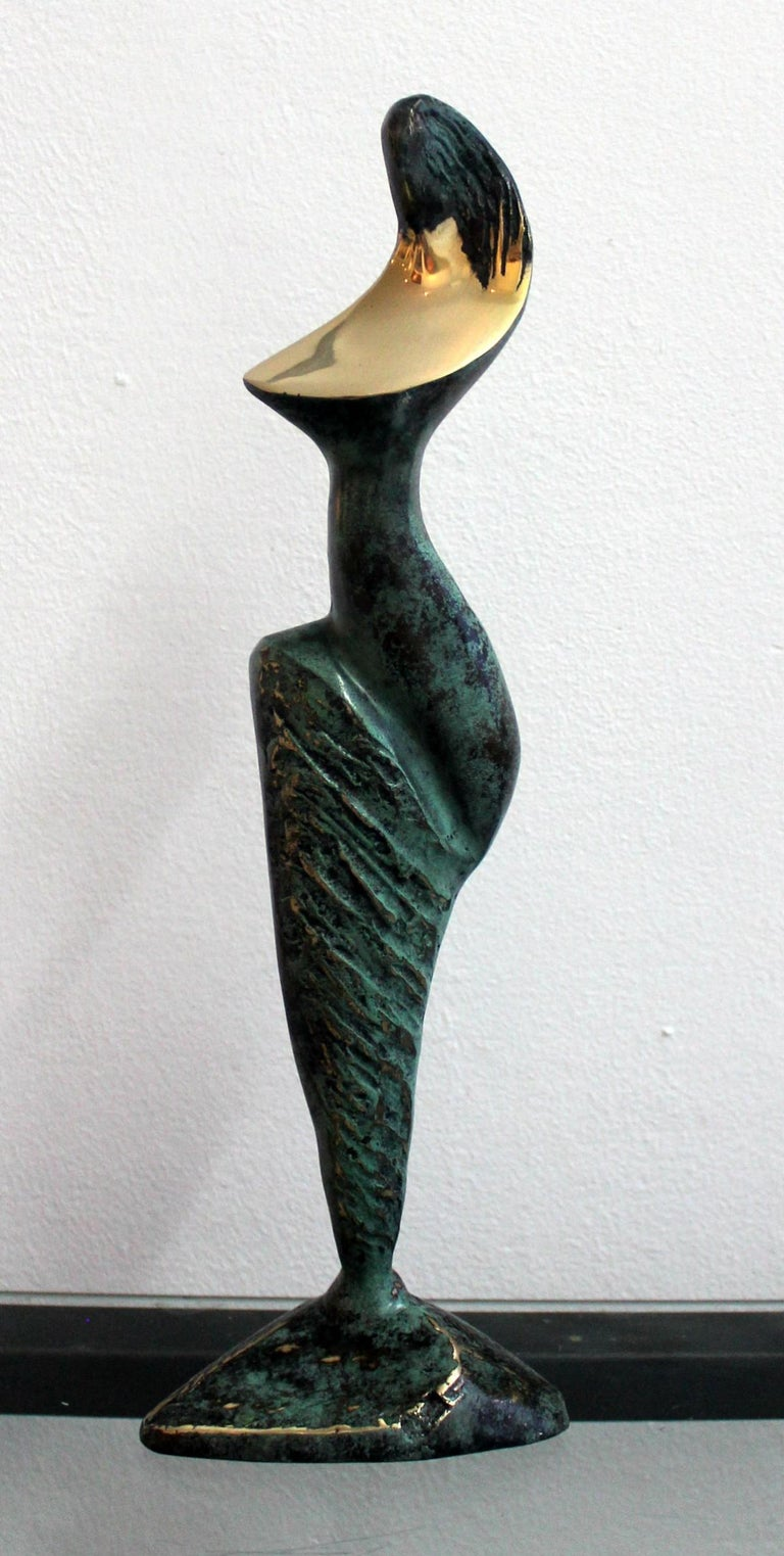Stanisław Wysocki Figurative Sculpture - Dame - XXI Century, Contemporary Bronze Sculpture, Figurative, Nude, Abstract