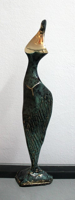 Dame - XXI Century, Contemporary Bronze Sculpture, Figurative, Nude, Abstract