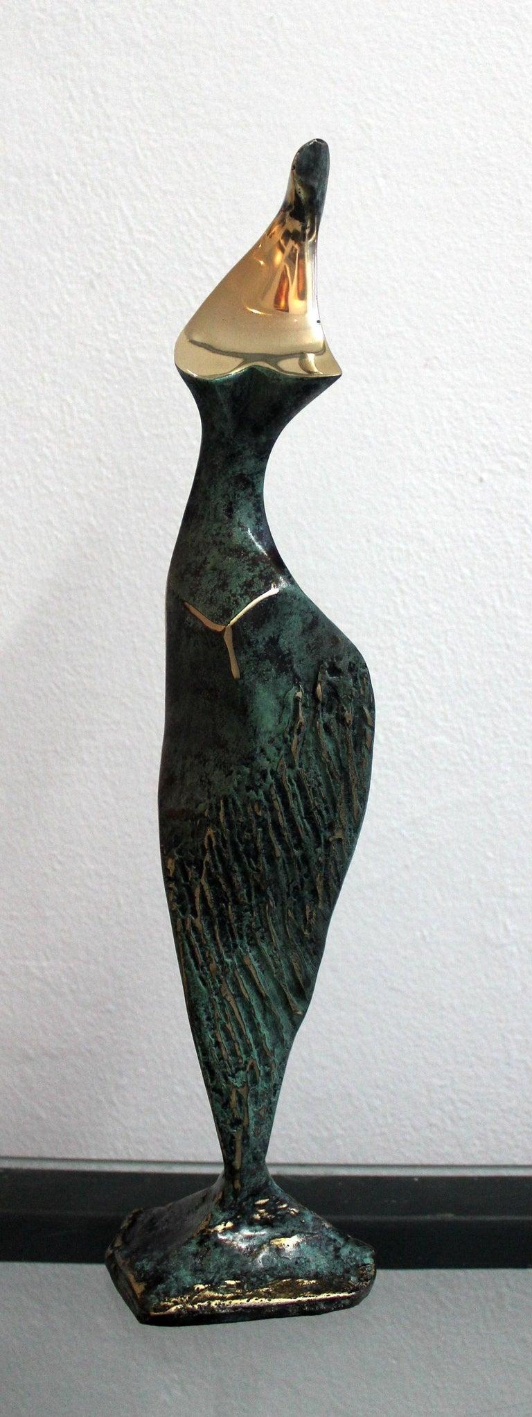 Stanisław Wysocki Figurative Sculpture - Dame - XXI Century, Contemporary Bronze Sculpture, Figurative, Nude, Abstract