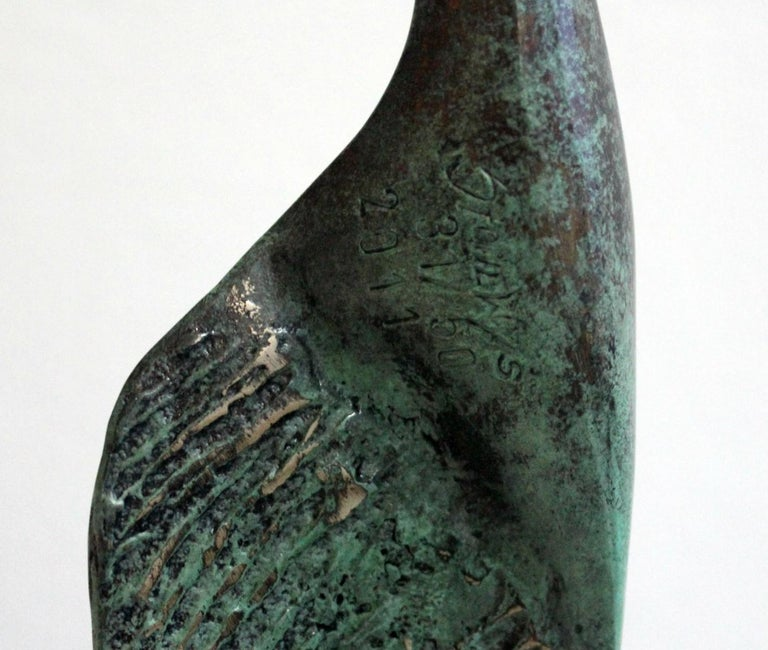 Dame - XXI Century, Contemporary Bronze Sculpture, Figurative, Nude, Abstract For Sale 1