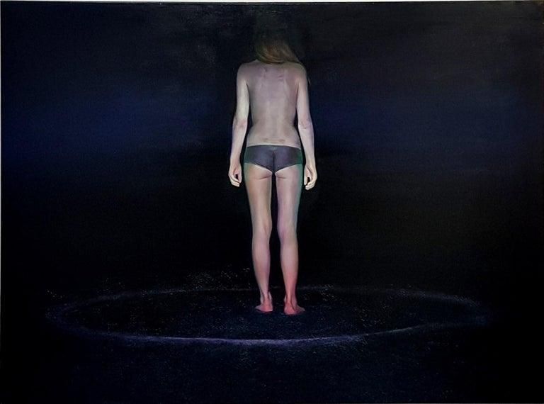 Emilia Dragosz Figurative Painting - Untitled - XXI Century, Contemporary Figurative Oil Painting, Realistic, Nude