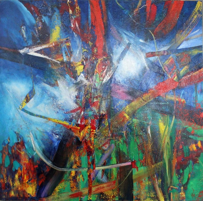 Waldemar Stach Abstract Painting - No title