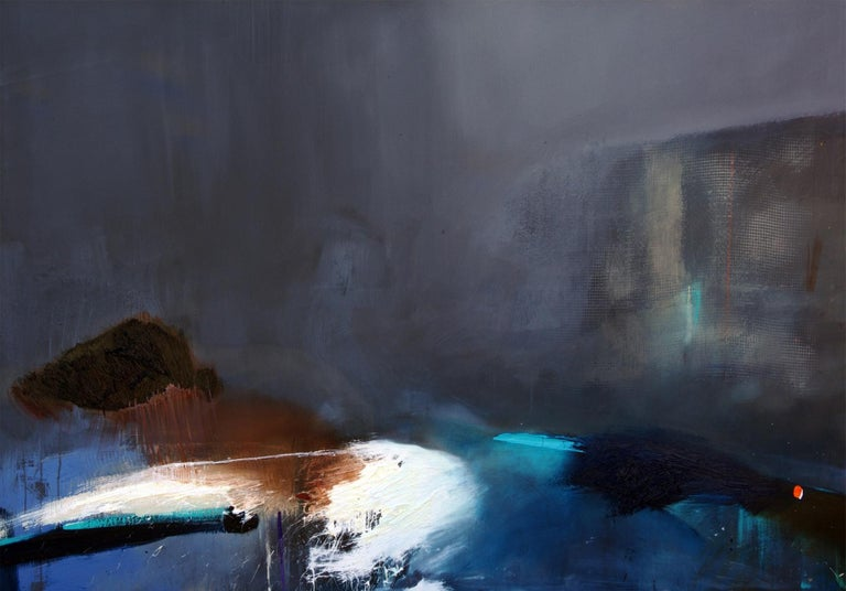 Beata Tarnowska Landscape Painting - Unreal 02