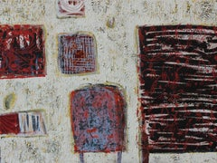 All of my corners - XXI Century, Contemporary Acrylic Abstract Painting, Texture