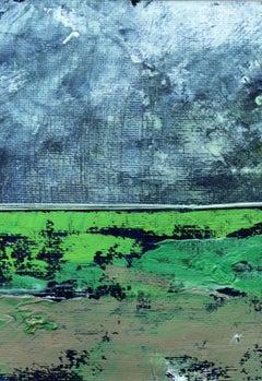 A landscape - XXI Century, Contemporary Mixed Media Art