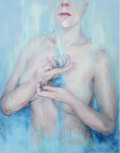 Energy (from the cycle 'Flow') - XXI Century, Figurative Oil Painting, Nude