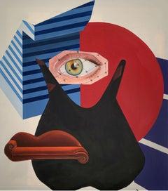 Modernity - XXI Century, Figurative oil painting, Surrealism