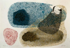 Alternating division - 21 century contemporary mixed media artwork, Abstraction