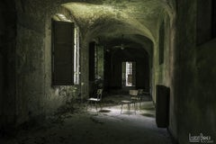 Urbex series - XXI century, Coloured photography, Limited edition, Interiors