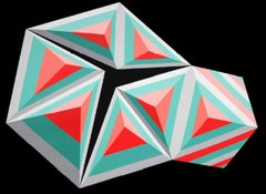 9 - XXI century, Acrylic painting, Geometrical abstraction, Vivid colours
