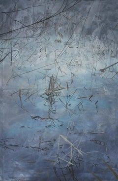 Submerged view VII - XXI Century, Contemporary Acrylic Painting, Landscape