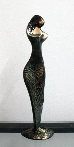 Venus - XXI Century, Contemporary Bronze Sculpture, Abstract, Figurative, Nude