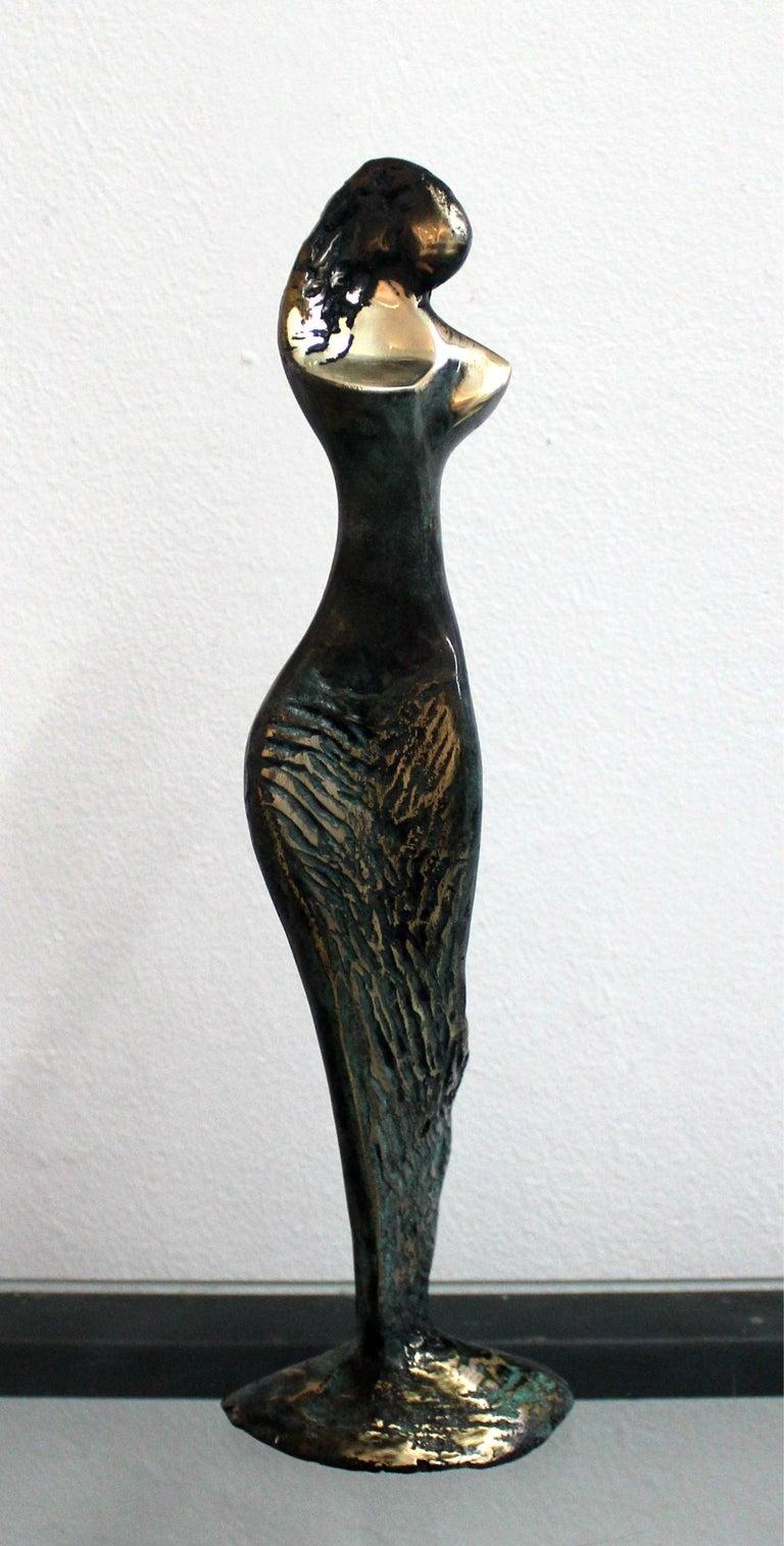 Stanisław Wysocki Figurative Sculpture - Venus - XXI Century, Contemporary Bronze Sculpture, Abstract, Figurative, Nude