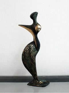 Inspiration - XXI Century, Contemporary Bronze Sculptue, Figurative, Abstraction