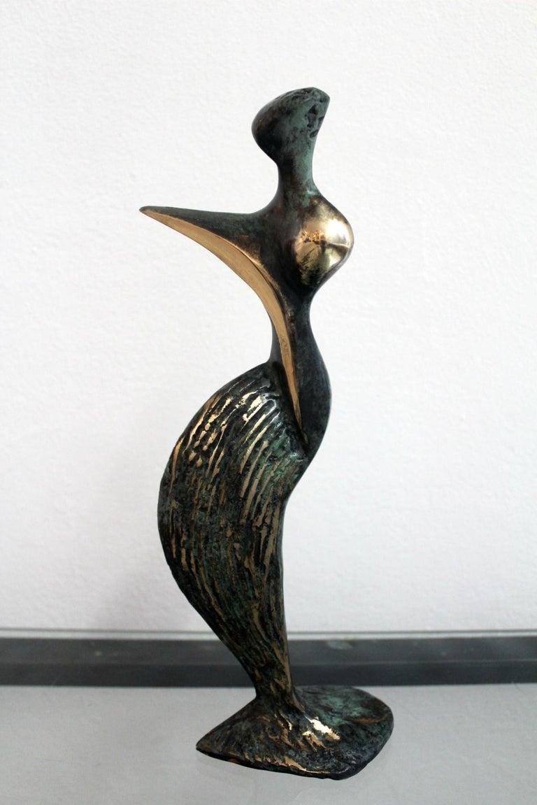 Inspiration - XXI Century, Contemporary Bronze Sculptue, Figurative, Abstraction - Sculpture by Stanisław Wysocki