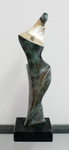 Dame - XXI Century, Contemporary Bronze Sculpture, Figurative, Nude, Abstraction