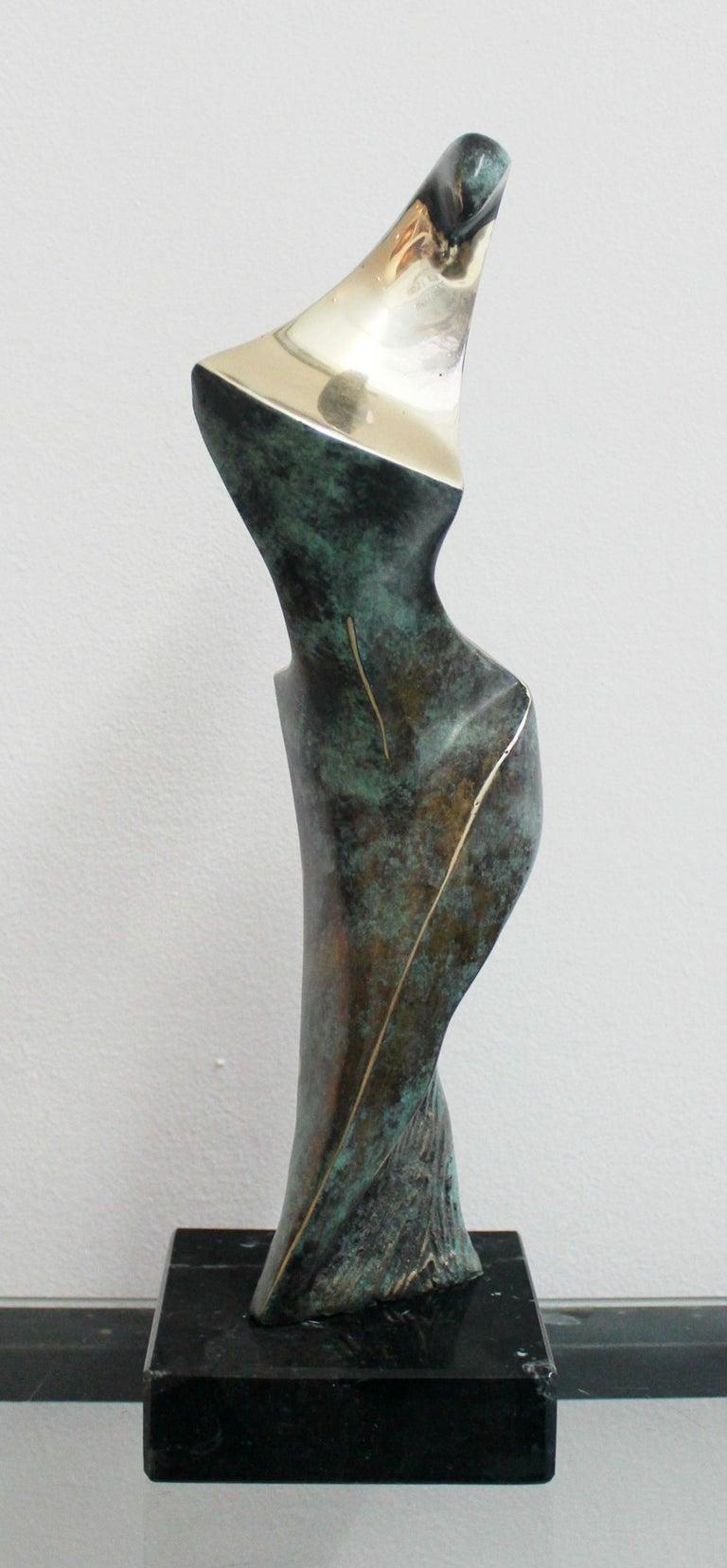 Stanisław Wysocki Nude Sculpture - Dame - XXI Century, Contemporary Bronze Sculpture, Figurative, Nude, Abstraction