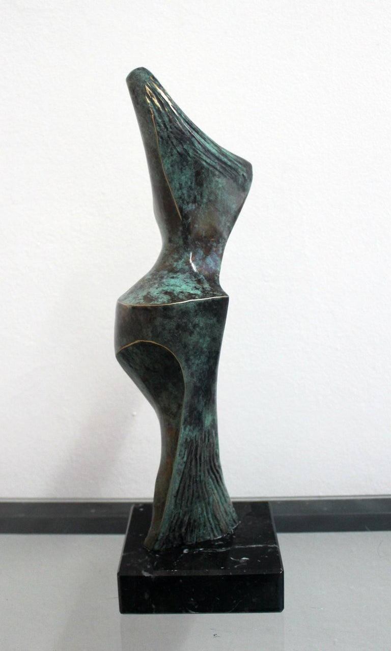 Dame - XXI Century, Contemporary Bronze Sculpture, Figurative, Nude, Abstraction For Sale 1