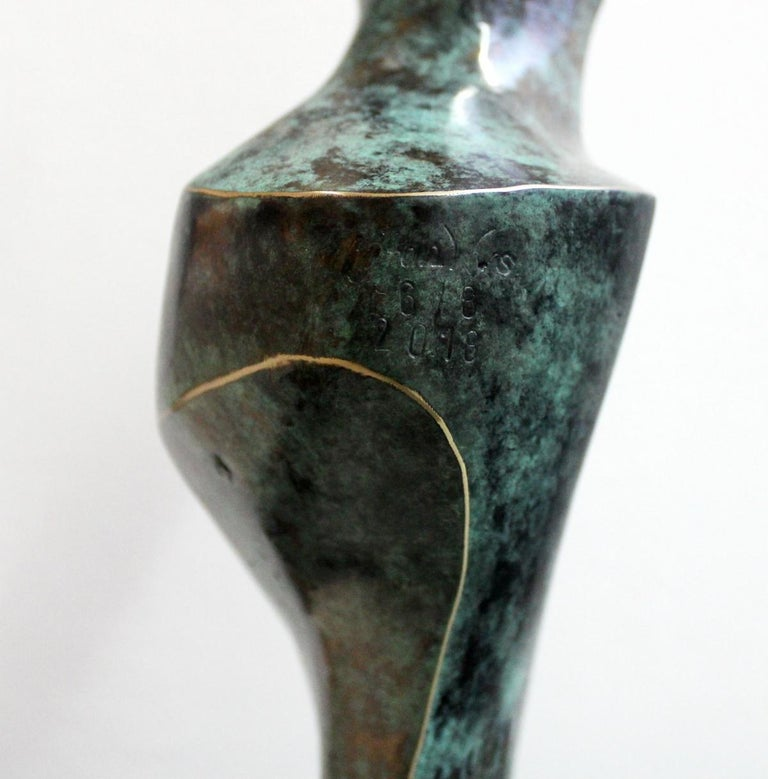 Dame - XXI Century, Contemporary Bronze Sculpture, Figurative, Nude, Abstraction For Sale 3