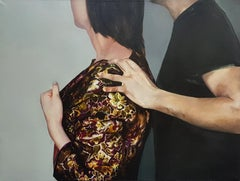 Good intentions - XXI Century, Contemporary Figurative Oil Painting