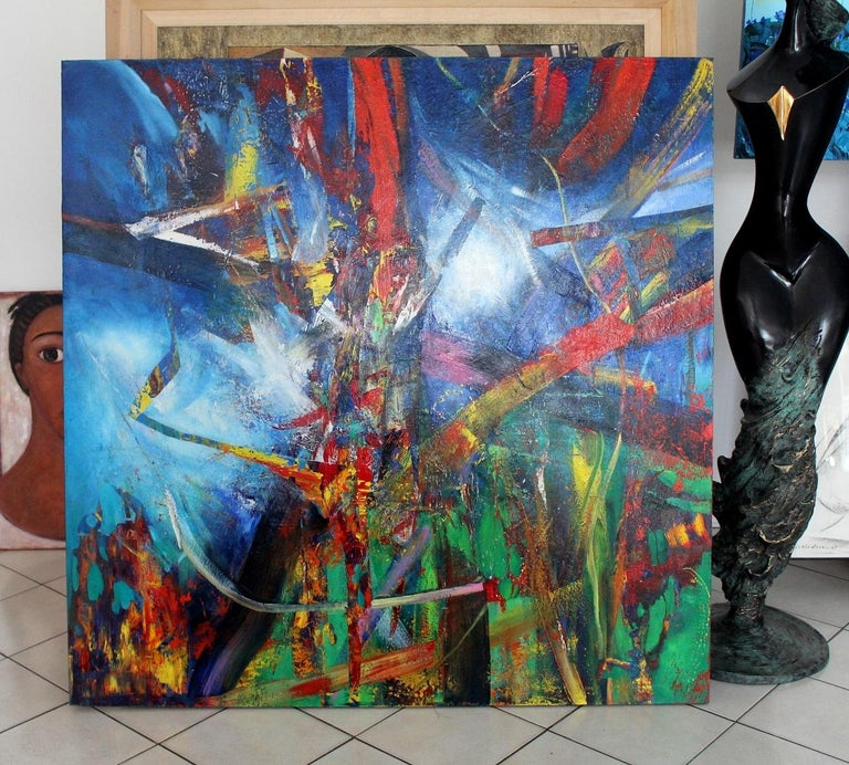 No title - Abstract Painting by Waldemar Stach
