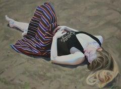 Dziwozona - XXI century, Figurative oil painting, Young art, Female Portrait