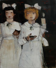 Holy Communion - XXI Century, Contemporary Figurative Oil Painting