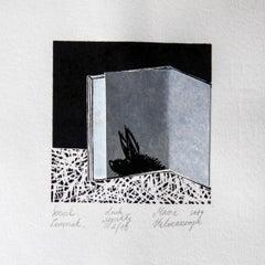 Dream book. An animal - XXI Century, Contemporary 3D Linocut & Woodcut Print