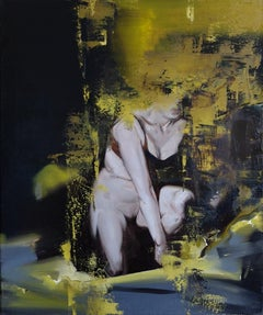 Vividness of the night - XXI Century, Contemporary Figurative Nude Oil Painting