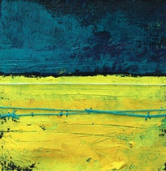 A landscape - XXI Century, Contemporary Mixed Media Art, Abstraction